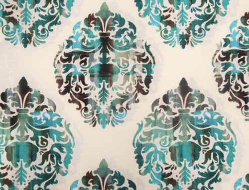 Dallas Damask – Turquoise Blue - HIBOTEX INDUSTRIES - Manufacturer and Exporter of high quality woven Jacquard Furnishing & Garment Fabrics - Jacquard Fabric Manufacturer & Exporter offering wide range of woven quality fabrics