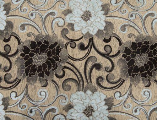 GAZA – COFFEE SKY BLUE - HIBOTEX INDUSTRIES - Manufacturer and Exporter of high quality woven Jacquard Furnishing & Garment Fabrics - Jacquard Fabric Manufacturer & Exporter offering wide range of woven quality fabrics