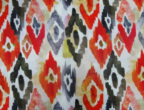 Zion Abstract – Red - HIBOTEX INDUSTRIES - Manufacturer and Exporter of high quality woven Jacquard Furnishing & Garment Fabrics - Jacquard Fabric Manufacturer & Exporter offering wide range of woven quality fabrics