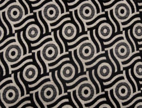 ORLEAANCE 5 – LT BLACK - HIBOTEX INDUSTRIES - Manufacturer and Exporter of high quality woven Jacquard Furnishing & Garment Fabrics - Jacquard Fabric Manufacturer & Exporter offering wide range of woven quality fabrics