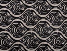 ORLEAANCE 6 – LT BLACK - HIBOTEX INDUSTRIES - Manufacturer and Exporter of high quality woven Jacquard Furnishing & Garment Fabrics - Jacquard Fabric Manufacturer & Exporter offering wide range of woven quality fabrics
