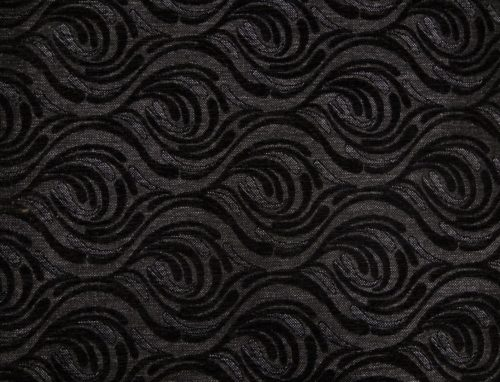 ORLEAANCE 6 – DK BLACK - HIBOTEX INDUSTRIES - Manufacturer and Exporter of high quality woven Jacquard Furnishing & Garment Fabrics - Jacquard Fabric Manufacturer & Exporter offering wide range of woven quality fabrics