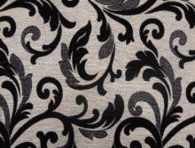 ORLEAANCE 7 – LT BLACK - HIBOTEX INDUSTRIES - Manufacturer and Exporter of high quality woven Jacquard Furnishing & Garment Fabrics - Jacquard Fabric Manufacturer & Exporter offering wide range of woven quality fabrics