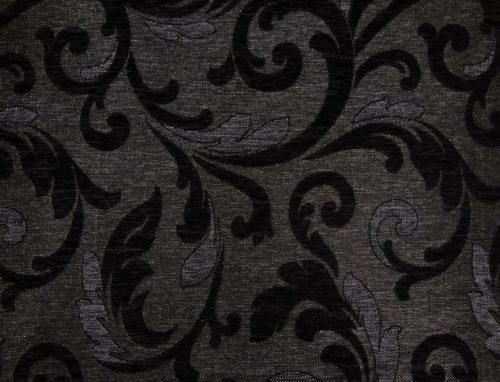 ORLEAANCE 7 – DK BLACK - HIBOTEX INDUSTRIES - Manufacturer and Exporter of high quality woven Jacquard Furnishing & Garment Fabrics - Jacquard Fabric Manufacturer & Exporter offering wide range of woven quality fabrics