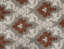 PERSIA – RUST CREAM - HIBOTEX INDUSTRIES - Manufacturer and Exporter of high quality woven Jacquard Furnishing & Garment Fabrics - Jacquard Fabric Manufacturer & Exporter offering wide range of woven quality fabrics