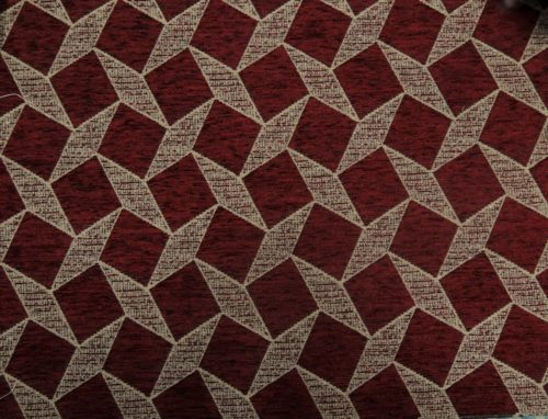 RAMOM – MAROON - HIBOTEX INDUSTRIES - Manufacturer and Exporter of high quality woven Jacquard Furnishing & Garment Fabrics - Jacquard Fabric Manufacturer & Exporter offering wide range of woven quality fabrics
