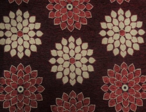 ZORIN – DK MAROON - HIBOTEX INDUSTRIES - Manufacturer and Exporter of high quality woven Jacquard Furnishing & Garment Fabrics - Jacquard Fabric Manufacturer & Exporter offering wide range of woven quality fabrics